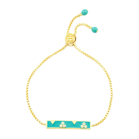 Harmony Enamel Adjustable Bracelet
