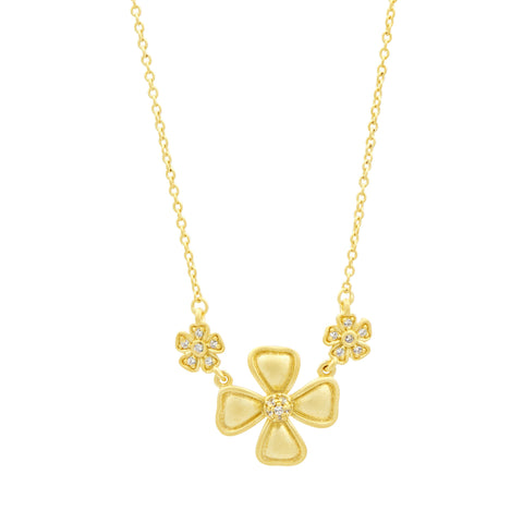 Harmony Flower Pendant Necklace