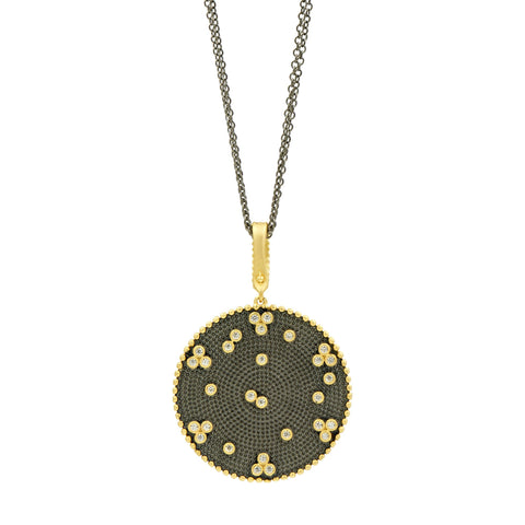 Signature Double Sided Pendant Necklace