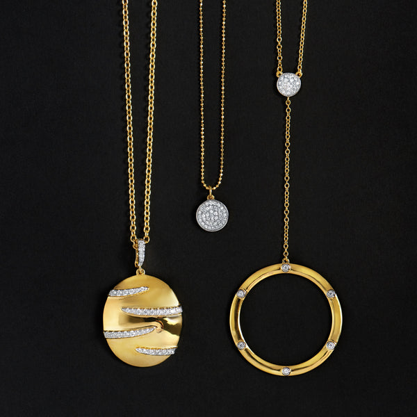 Decked to Shine Pendant Necklaces