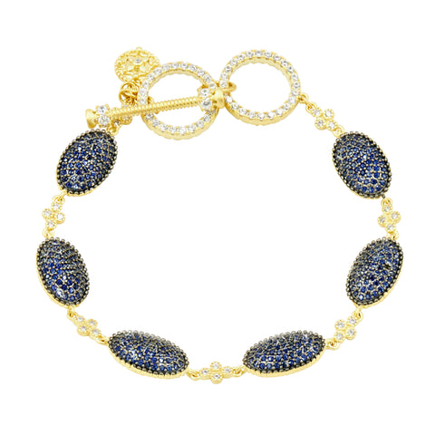 Midnight Pavé Soft Bracelet