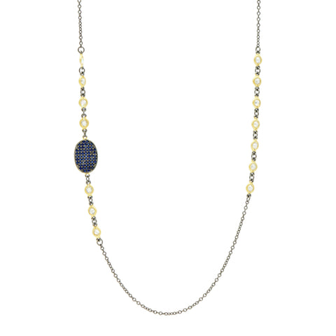 "Midnight 36"" Station Necklace"