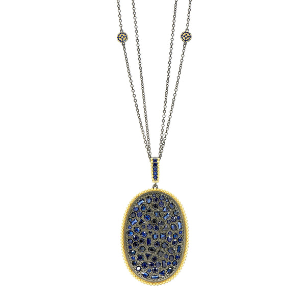 Midnight Statement Pendant Necklace