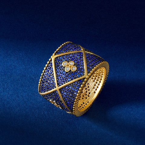 Midnight Pavé Cigar Band