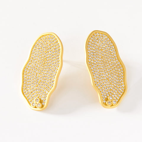 Pavé Statement Earring
