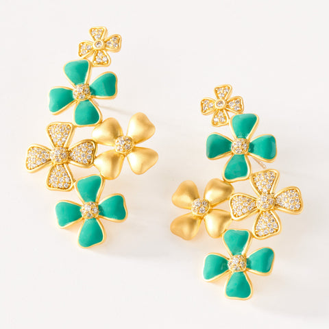 Brooklyn Garden Statement Earring