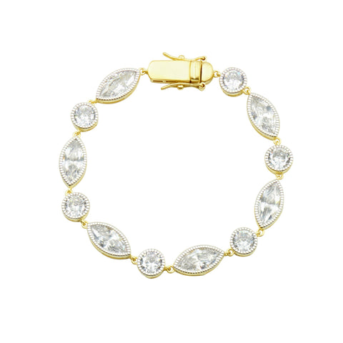 Bride-To-Be Mixed Shape Bracelet