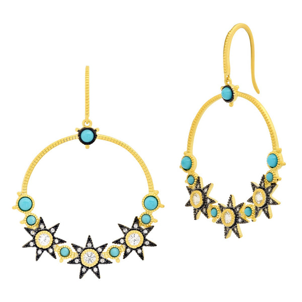 Constellation Open Drop Earring