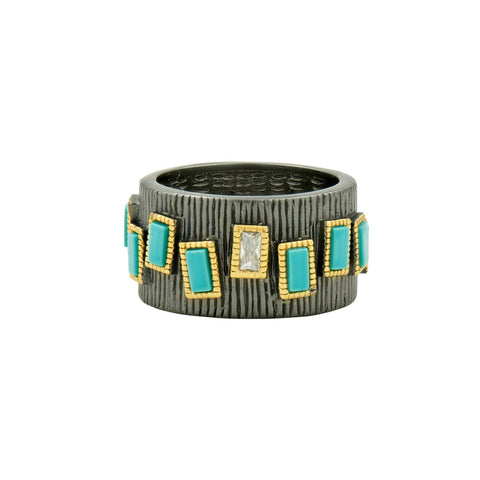 Multi-Stone Cigar Band