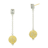 Celestial Ball Drop Earring