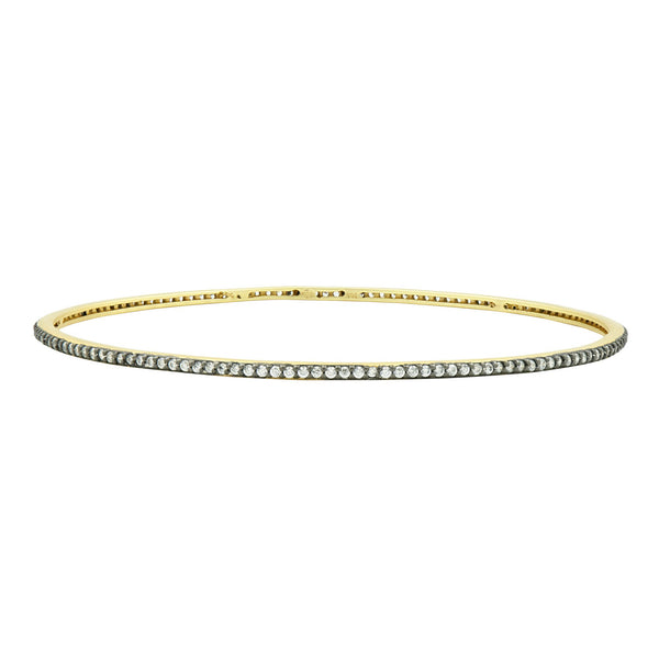 Pavé Slide On Bangle