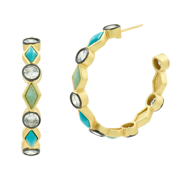 Shades of Brooklyn Hoop Earring