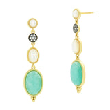 Touch of Turquoise Gradient Drop Earring