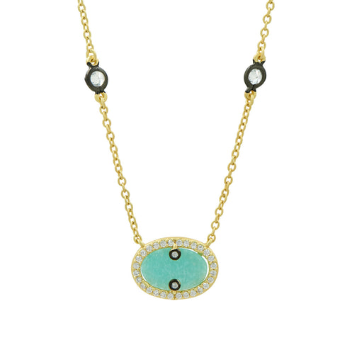 Hint of Sparkle Pendant Necklace