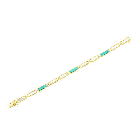 Touch of Turquoise Soft Bracelet