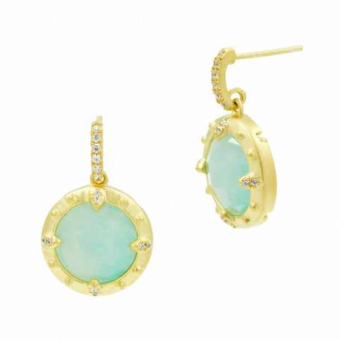 Amazonian Allure Petite Drop Earrings - FREIDA ROTHMAN