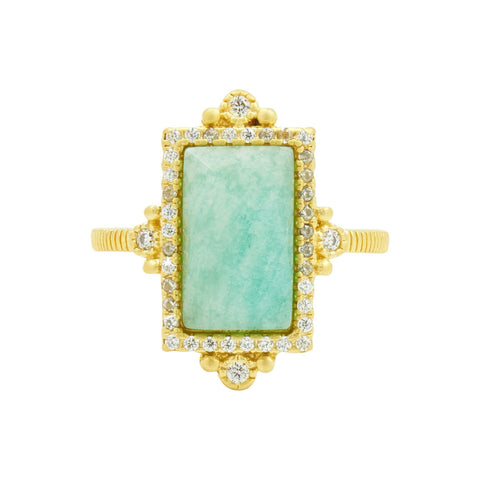 Amazonian Allure Single Stone Cocktail Ring - FREIDA ROTHMAN