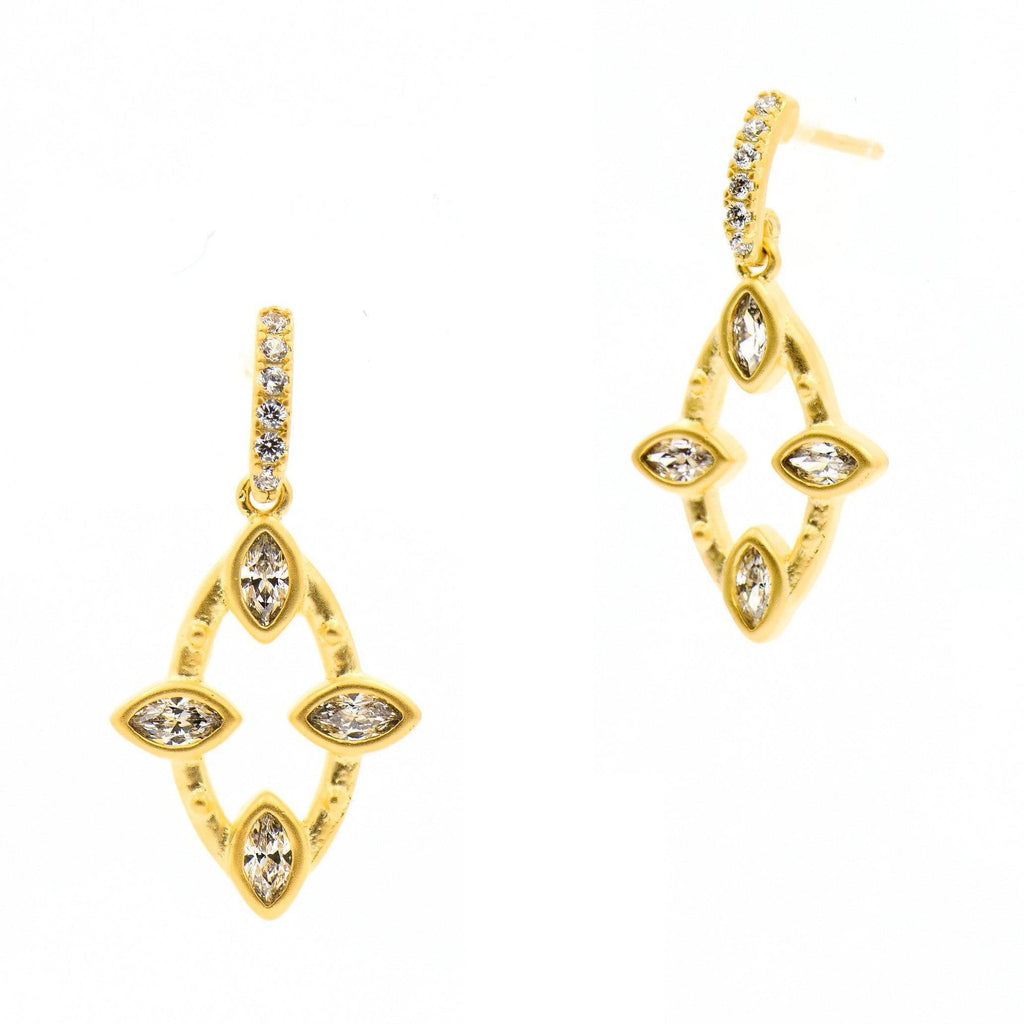 Amazonian Allure Petite Open Drop Earrings