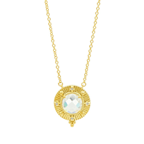 Amazonian Allure Single Stone Pendant Necklace - FREIDA ROTHMAN