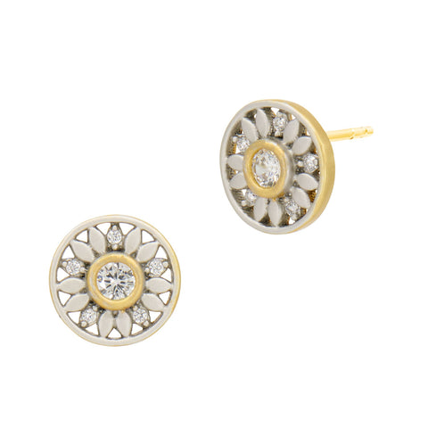 Petals in Bloom Stud Earring