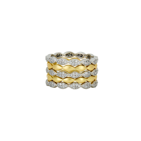 Layers of Armor 5-Stack Ring