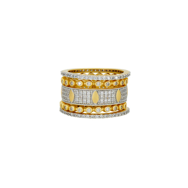 Petals in Bloom 5-Stack Ring