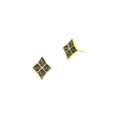 Contemporary Deco Marquee Star Stud Earring