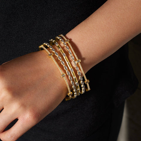 Delicate Bangle Stack
