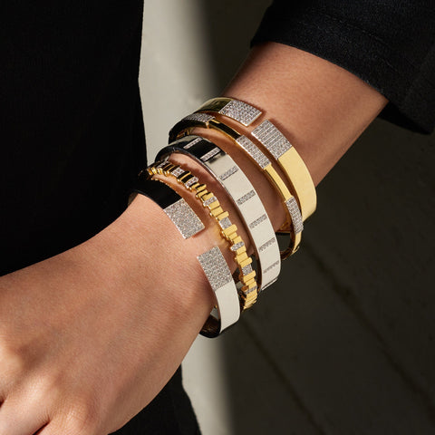 Modern Bangle Stack (Set of 5)