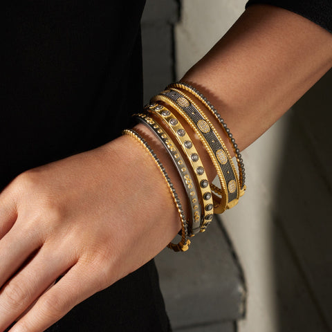 Signature Bangle Stack (Set of 5)