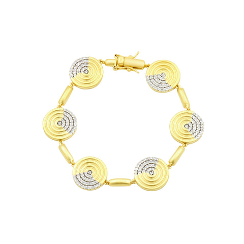 Fleur Bloom EMPIRE Circular Ring Soft Bracelet