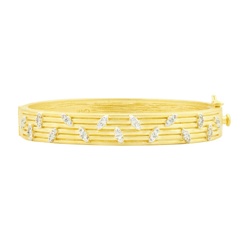 Fleur Bloom EMPIRE Layered Hinge Bangle