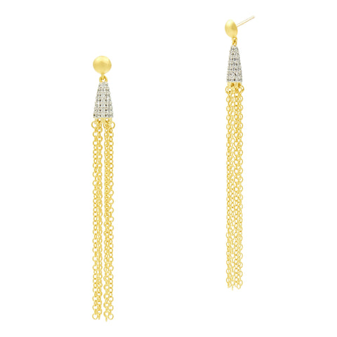 Fleur Bloom EMPIRE Delicate Drop Earrings