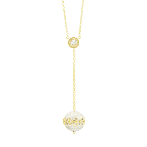 Fleur Bloom Y-Necklace - FREIDA ROTHMAN