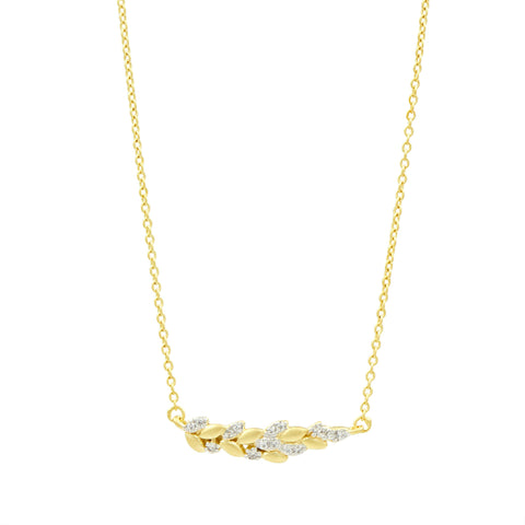Fleur Bloom EMPIRE Floral Cluster Necklace