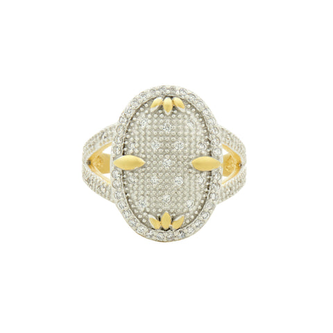 Fleur Bloom Cocktail Ring - FREIDA ROTHMAN