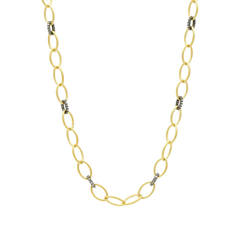 Signature Two-Tone Link Necklace - FREIDA ROTHMAN