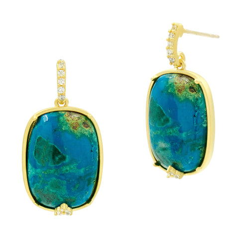 Harmony Stone Drop Earring