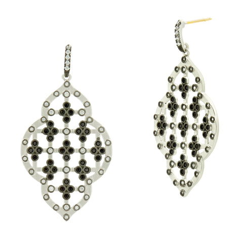 Industrial Clover Statement Earring