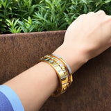 Radiance Wide Hinge Bangle