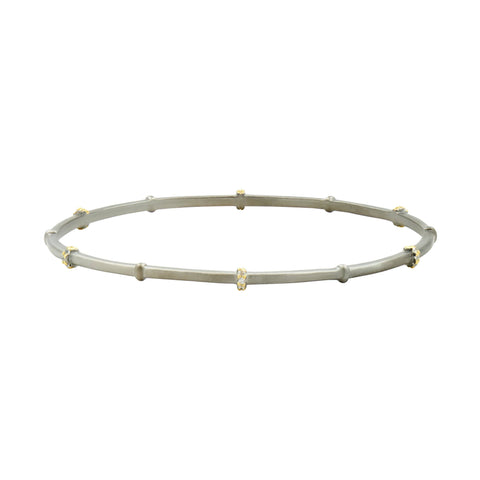 Pavé Roped Slide-On Bangle