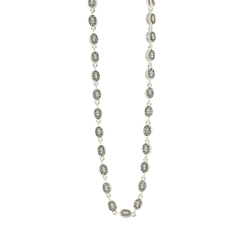 Industrial Finish Pave Short Chain Necklace - FREIDA ROTHMAN