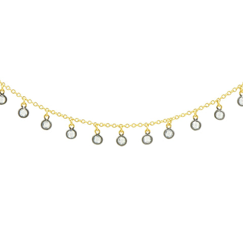 Signature Charm Short Necklace - FREIDA ROTHMAN