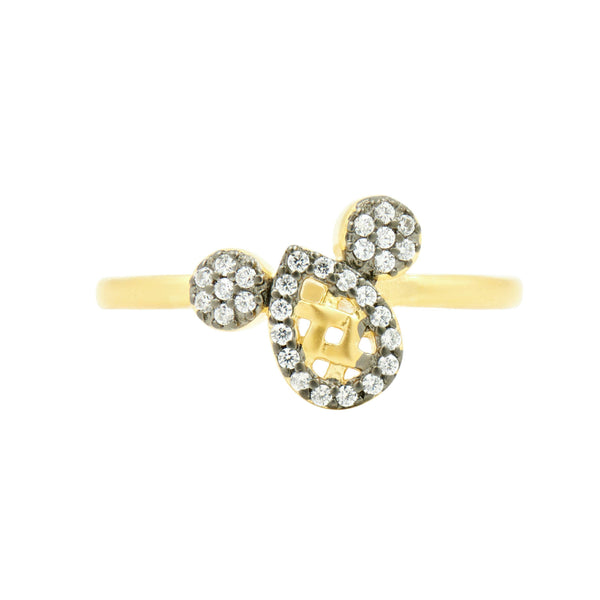 Lattice Motif Cocktail Ring