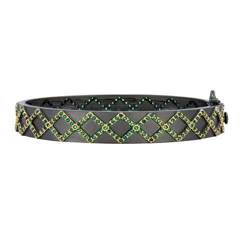 Midnight Criss Cross Bangle