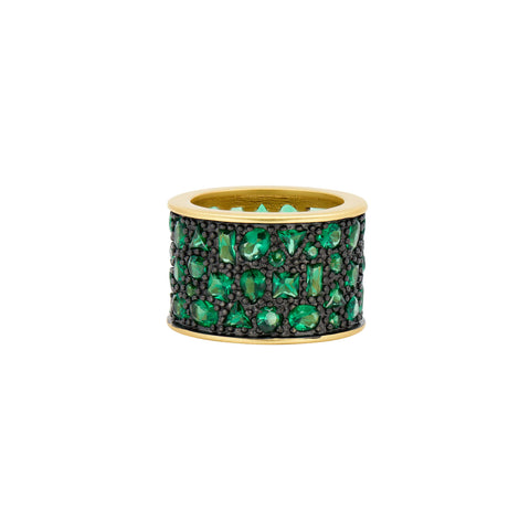 Midnight Emerald Cigar Band
