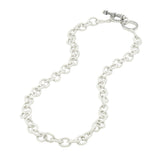 Two-Tone Toggle Chain Necklace