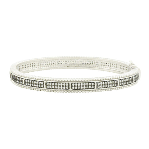 Pavé  Hinge Bangle