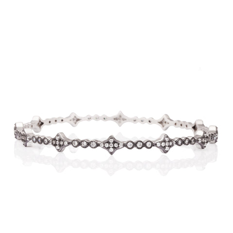 Thin New Star Bangle - FREIDA ROTHMAN