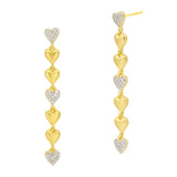 From the Heart Linear Earring